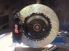 Audi TTRS Bremsenupgrade
