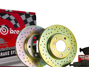 Brembo Highperformance Bremssystem